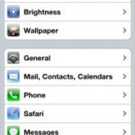 iphone mail settings